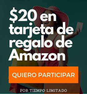 $20 en tarjeta de regalo de Amazon